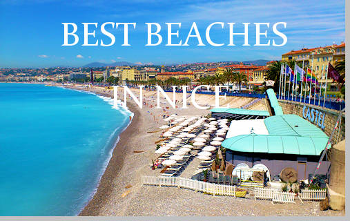 Beaches In Nice, France