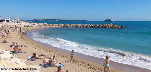 Public Beaches In Cannes